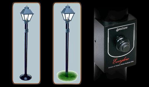 Everglow Lamp Combo Paks Mhp Outdoor Gas Lights Modern