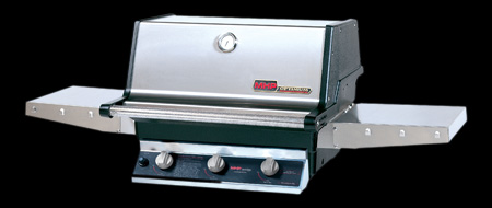 grill head with stainless steel housing